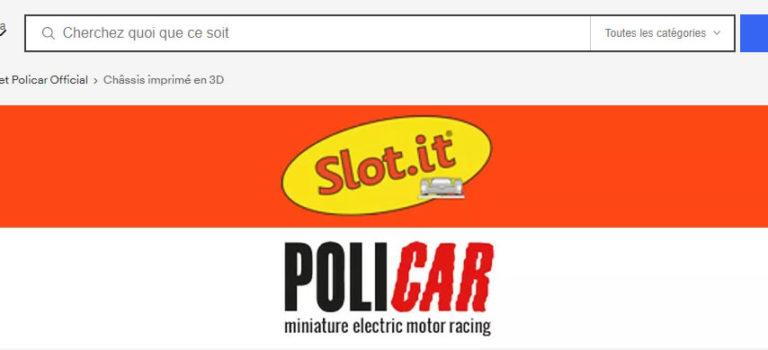 Slot.it et Policar ouvrent une boutique eBay.