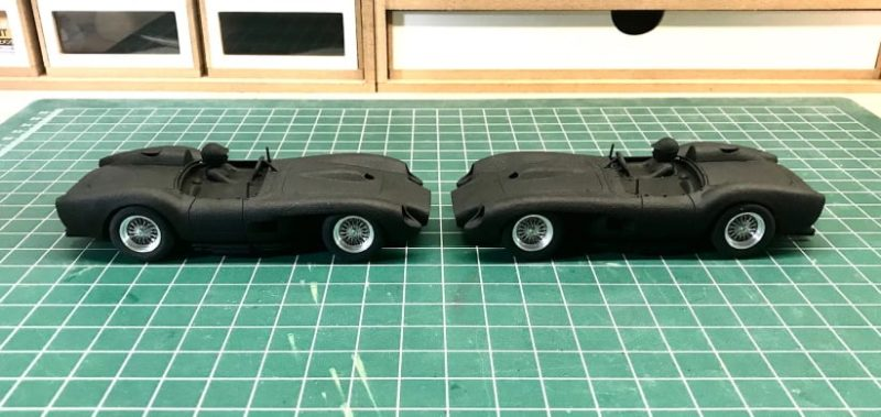 The Area71 les Ferrari 250 TR, GTO et 330 GTO en impression 3D
