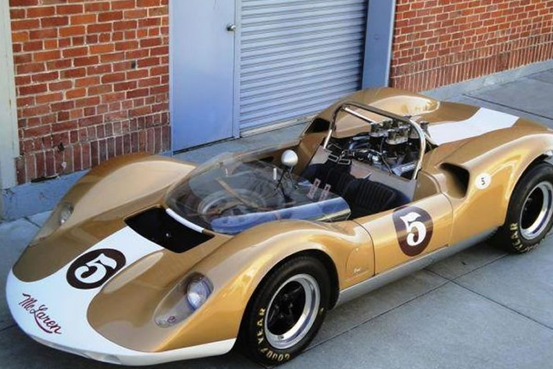 Thunder Slot McLaren Elva Mk1 #5 Can-Am 1965 - Ref - CA00403