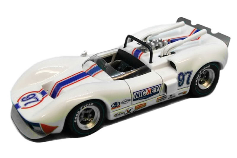 Thunder Slot McLaren Elva Mk1 No.97 Can-Am 1965 - National Speed Week (Mickey) - Ref -CA00404