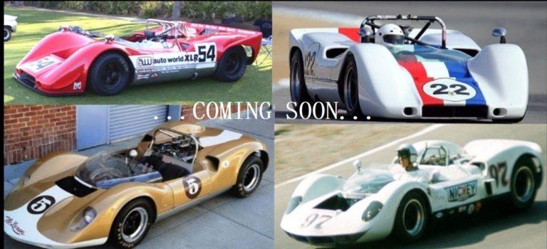 Thunder Slot: les prochaines livrées des McLaren M6B et Elva Mk1