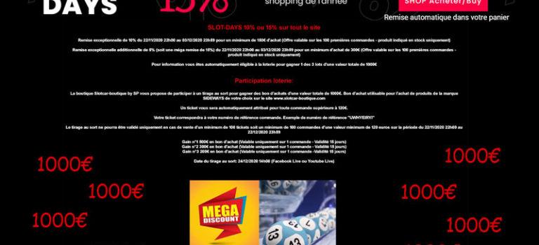 Slotcar-boutique by SP : les Slot Days et une Loterie