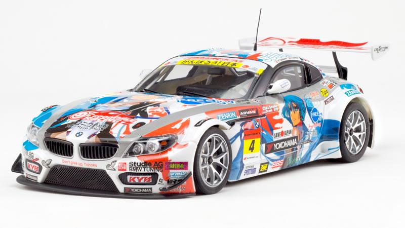 "BMW Z4 GT3 Super GT 2011 #4 ""Studie GA manga"" - Scaleauto"