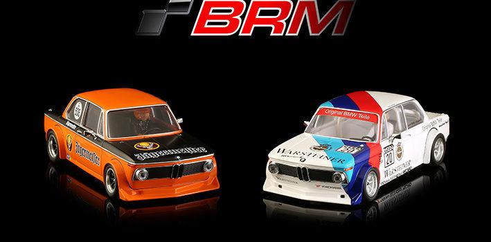 BRM: la BMW 2002ti pour le slot est disponible