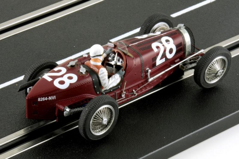 Bugatti Type 59 #28 GP Monaco 1934 - Rouge - LM-132087