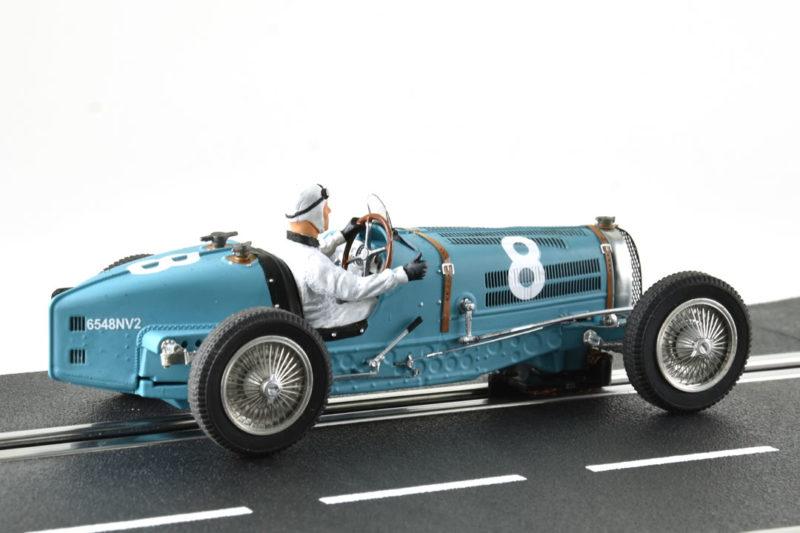 Bugatti Type 59 #8 GP Monaco 1934 - Bleu - LM-132087B