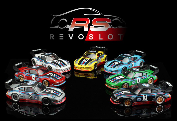 Collection Porsche GT2 - Martini Edition Revoslot