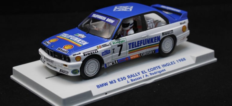 Fly Car Model:  La BMW M3 E30 Rally El Corte Ingles 1988 – E2009
