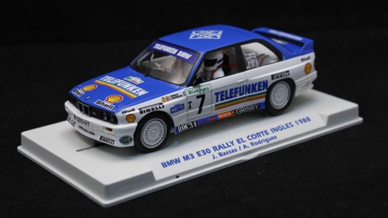 Fly Car Model:  La BMW M3 E30 Rally El Corte Ingles 1988 - E2009