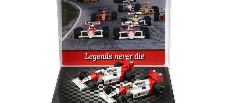 NSR: le coffret Formule 1 86/89 Spécial box set Legends #1 et #2