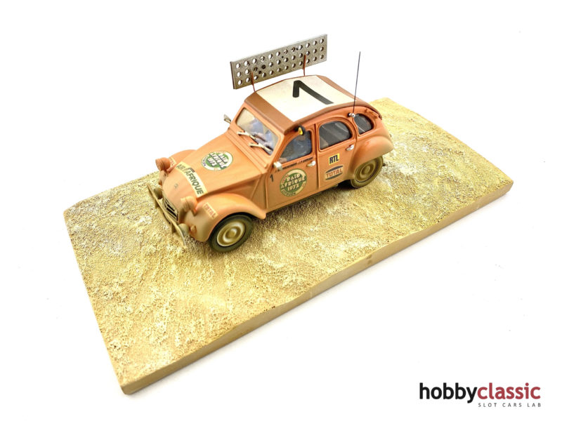 Hobbyclassic La Citroën 2 CV #1 Raid Afrique 1973 - Dirty