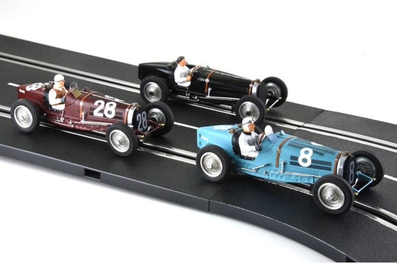 Le Mans miniatures: les photos des Bugatti Type 59 à l'échelle 1/32