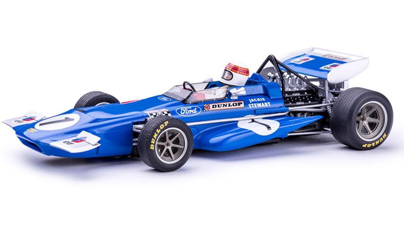 March 701 #1 Jackie Stewart Jarama – GP 1970 - Policar