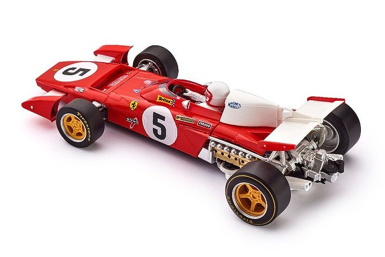 Policar CAR05b Ferrari 312B2 n.5 Silverstone 1971