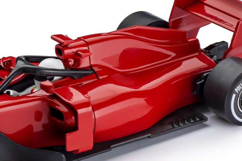 Policar CAR07 F1 Rouge