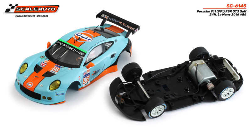 Porsche 911 (991) RSR GT3 Gulf 24H. Le Mans 2016 # 86 – SC-6145