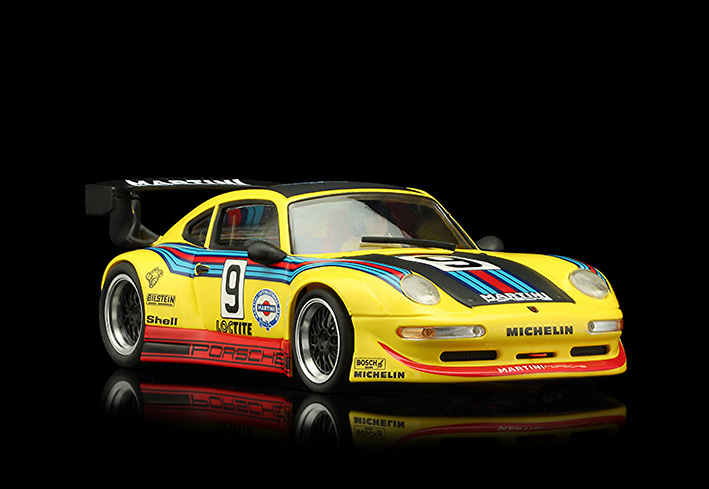 RS0080 Porsche GT2 - Martini Yellow