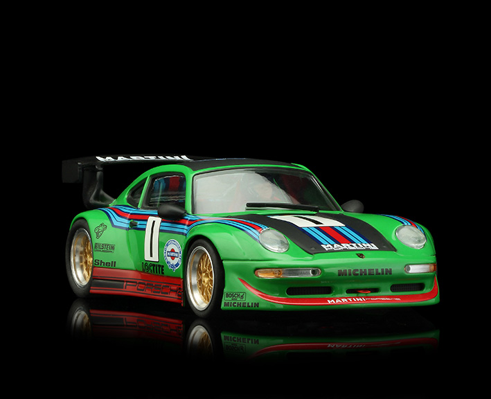 RS0081 Porsche GT2 - Martini Green