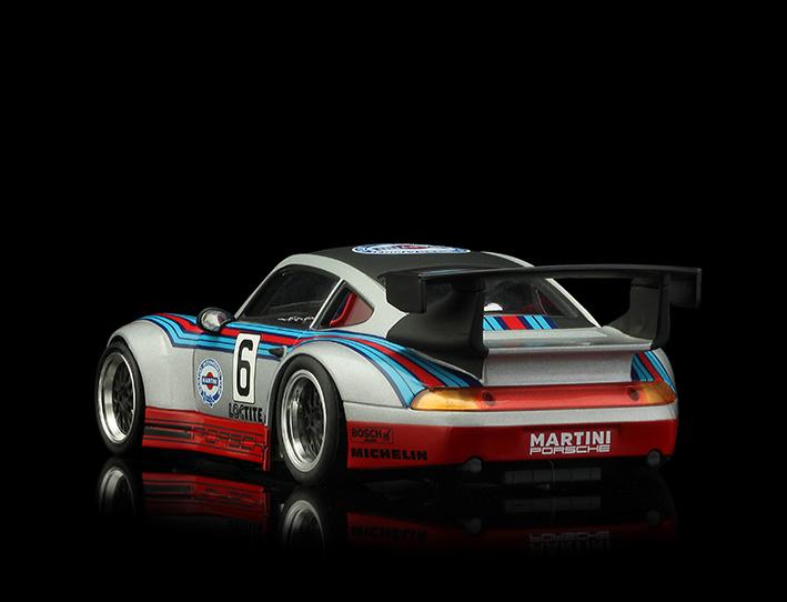 RS0082 Porsche GT2 - Martini Silver