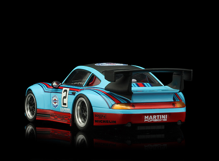 RS0084 Porsche GT2 - Martini Blue