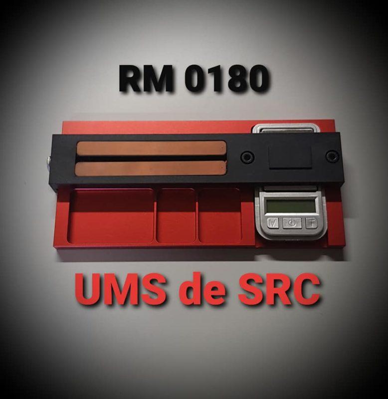 SRC L'UMS un appareil pour mesurer les moteurs des slot cars