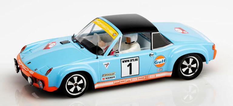 """SRC: Une nouvelle Porsche 914/6 """"Gulf Collection"""""""