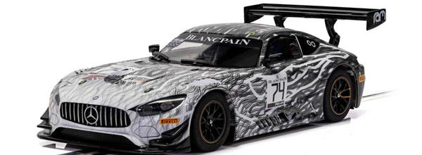 Scalextric: La Mercedes AMG GT3 - Monza 2019 - RAM Racing - C4162