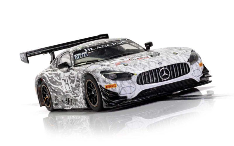 Scalextric La Mercedes AMG GT3 - Monza 2019 - RAM Racing - C4162