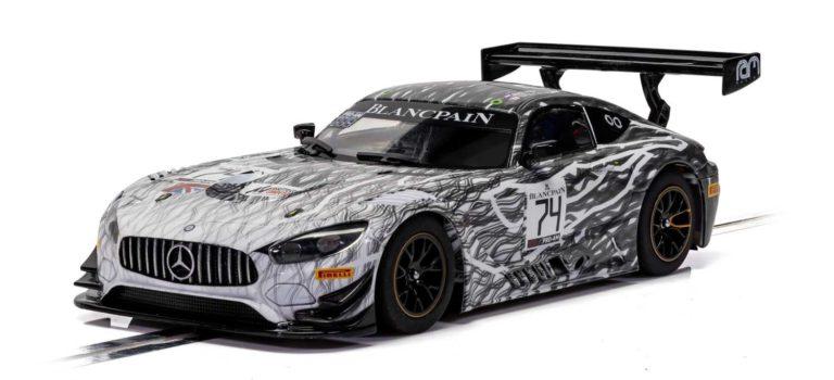 Scalextric: La Mercedes AMG GT3 – Monza 2019 – RAM Racing – C4162