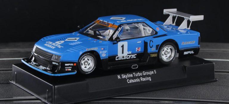 Sideways: la Nissan Skyline Turbo Gr5 Edition Calsonic décembre.
