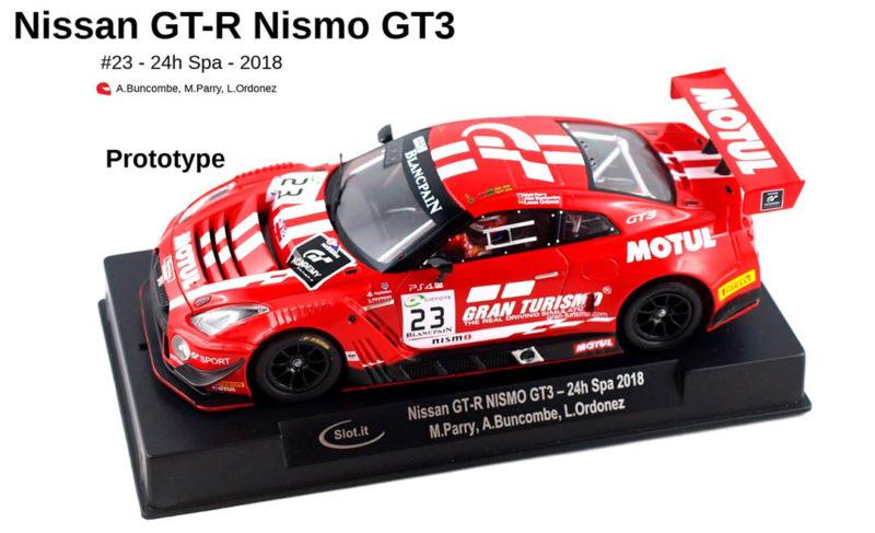 Slot.it La photo de la Nissan GT-R Nismo GT3 - 24h de Spa 2018