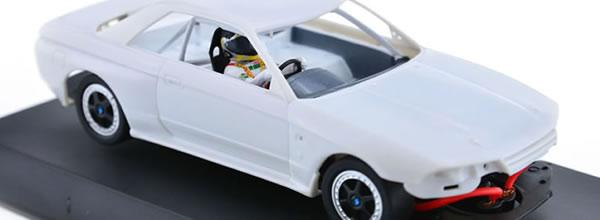 Slot.it le Kit blanc à monter de la Nissan Skyline GT-R