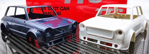 TTS: Deux kits de l'Autobianchi A112 Abarth