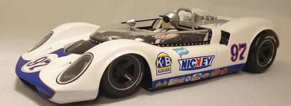 Thunder Slot la McLaren Elva Mk1 No.97 -Nickey-  Can-Am 1965