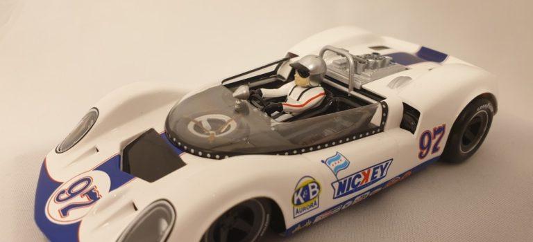 Thunder Slot: la McLaren Elva Mk1 No.97 -Nickey-  Can-Am 1965