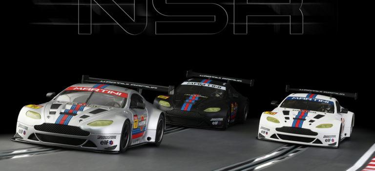 NSR: Trois ASV GT3 aux couleurs de Martini Racing