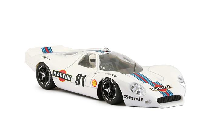 0191SW P68 Allan Mann Martini Racing White # 91
