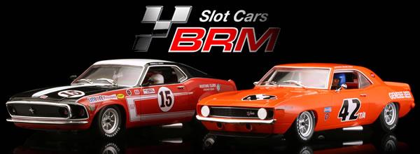 BRM Deux Muscle Cars 1-24 pour le printemps
