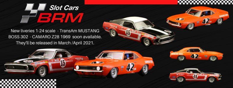 BRM Deux Muscle Cars 124 pour le printemps
