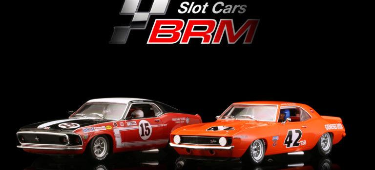 BRM: Deux Muscle Cars 1/24 pour le printemps