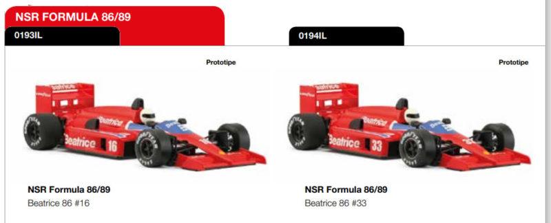 Formula 8689 Beatrice 86