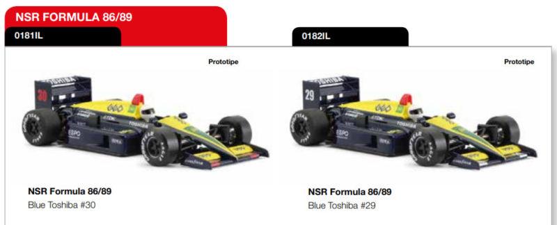 Formula 8689 Blue Toshiba