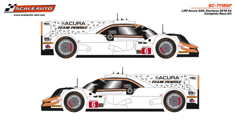 LMP Acura 24H. Daytona 2018 #6 Complete Race Kit - SC-7118SP