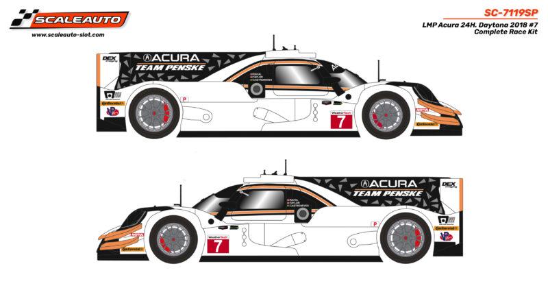 LMP Acura 24H. Daytona 2018 #7 Complete Race Kit - SC-7119SP