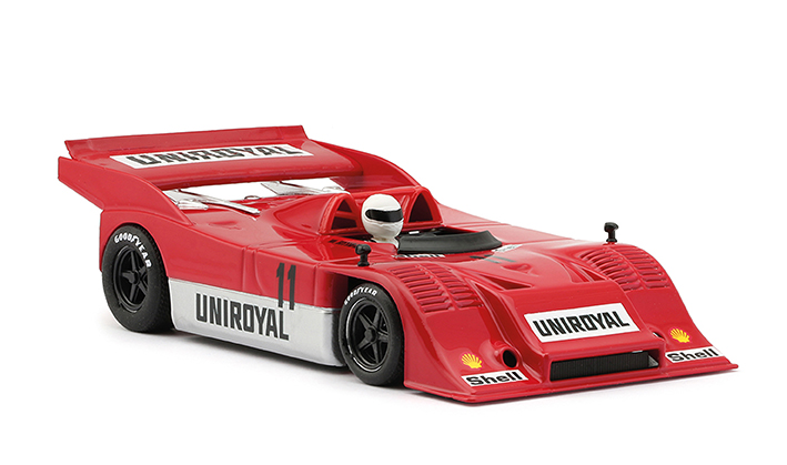 La Porsche 91710K - #11 Uniroyal – Fittipaldi 1973 – 0186SW
