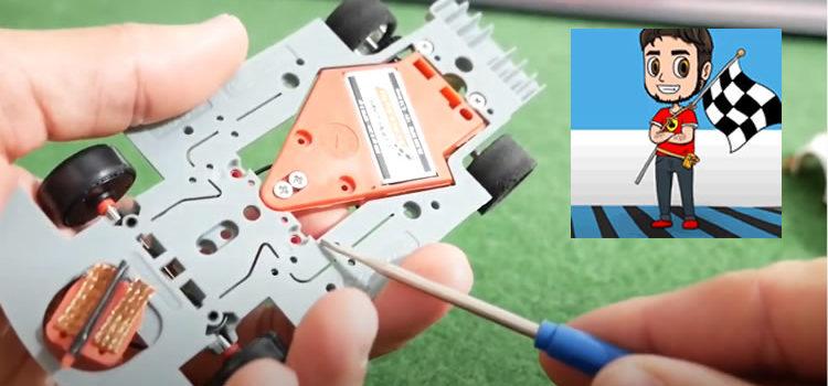 Le Slot de Flo: Video «Tuto» – préparer une AMG GT3 Scaleauto
