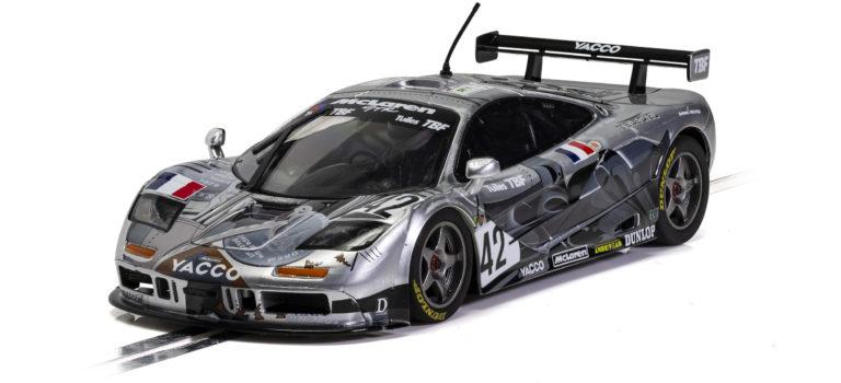 Scalextric: La McLaren F1 GTR – Le Mans 1995 – BBA Compétition