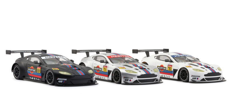 NSR  Trois ASV GT3 aux couleurs de Martini Racing