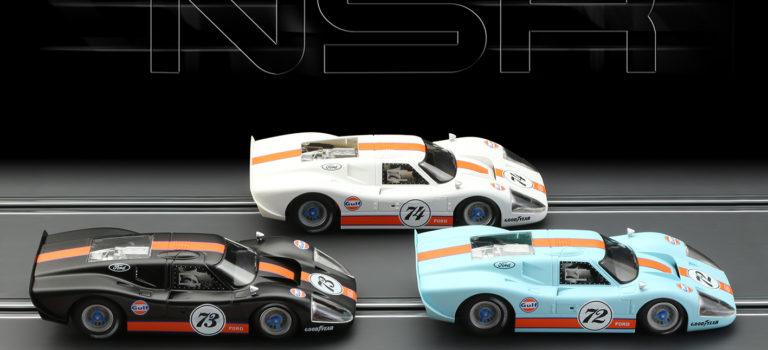 """NSR: Trois Ford Mk IV """"Gulf Limited Edition"""""""
