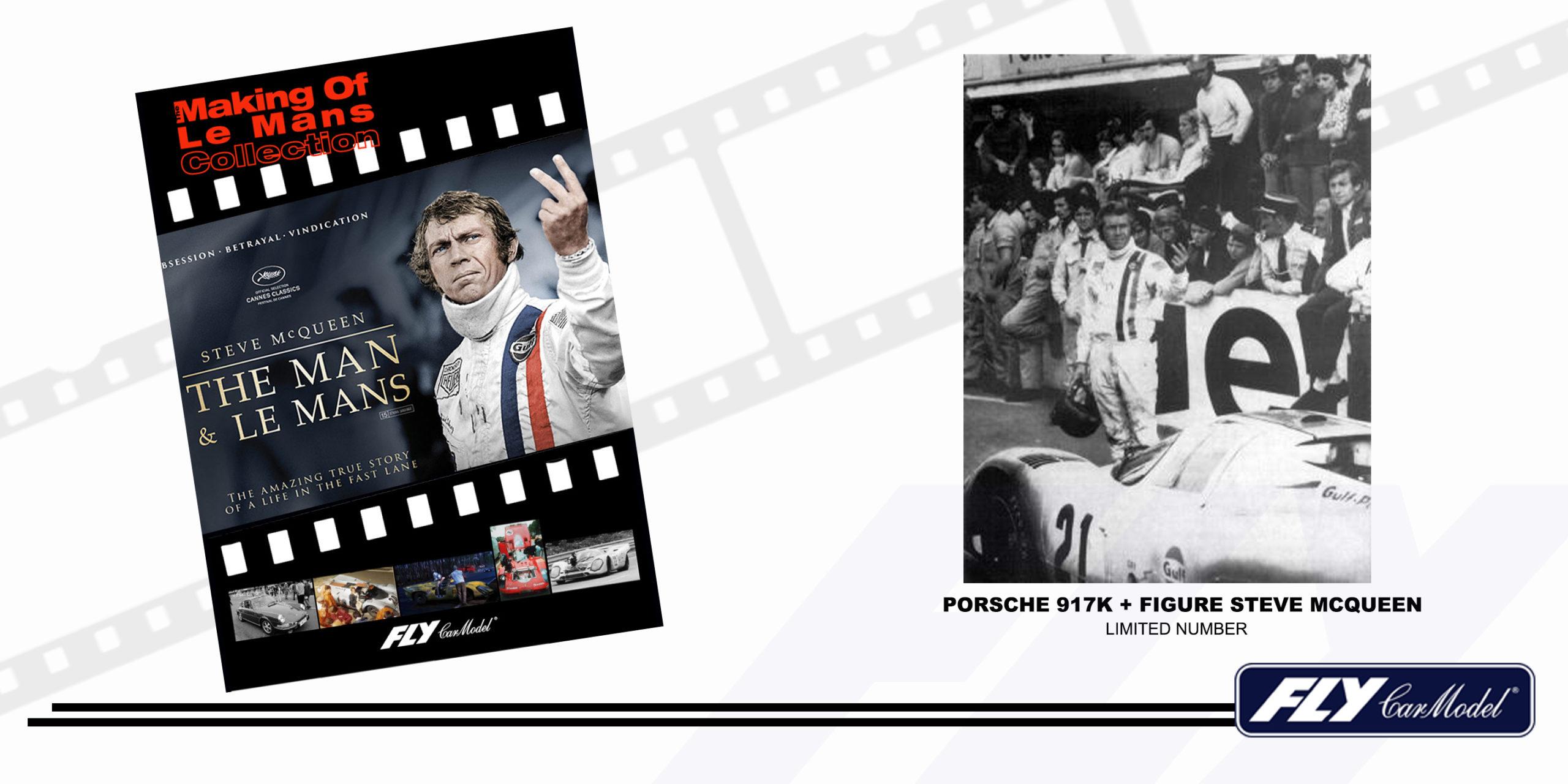 PORSCHE 917K + FIGURE (MAKING OF LE MANS)
